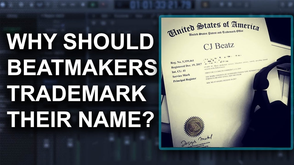 ™️ Why should Beat Makers & Music Producers Trademark their name? | Music Industry Advice