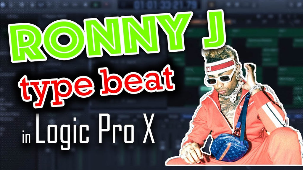 How to make a Ronny J type beat in Logic Pro X