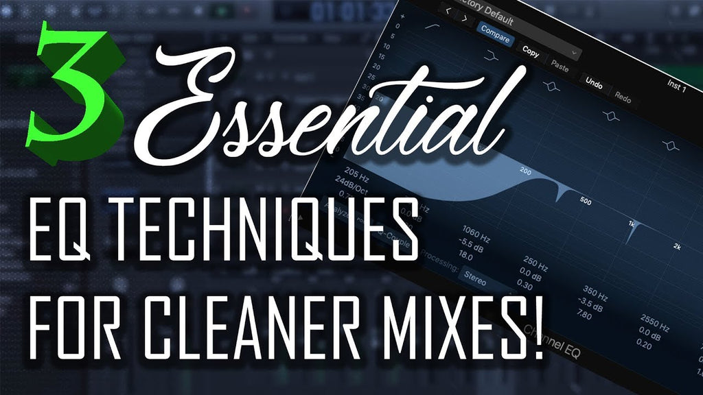 🎛️ 3 EQ Techniques/Tips To Get A Cleaner Mix!