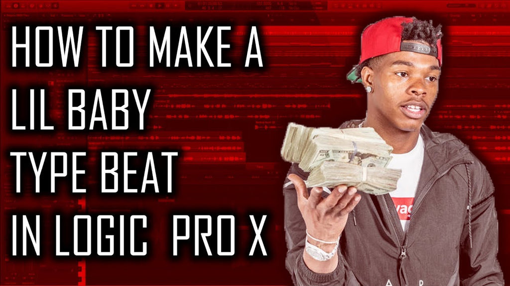 💵 How to make a Lil Baby type beat in Logic Pro X | Beat Maker Tutorials