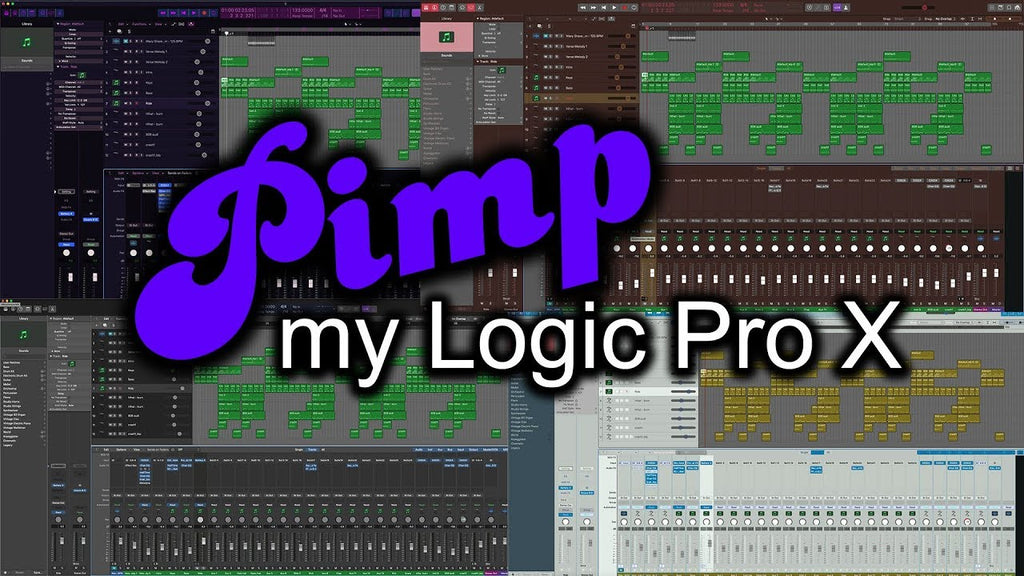 Pimp My Logic Pro X! - with Creationaut's LPX Colorizer - Review