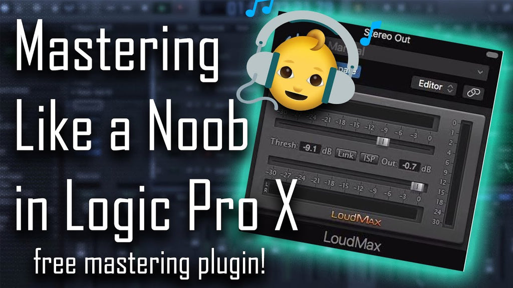 🎧 Mastering like a Noob in Logic Pro X | + Free Mastering Plugin!