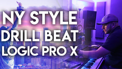 INSANE! NY Style Drill Beat from Scratch in Logic Pro X 10.6