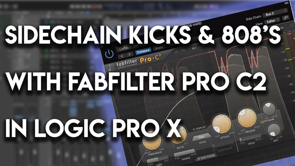 🎚️ How to Sidechain Kicks & 808s in Logic Pro X | Mixing Tutorial