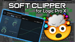 Soft Clipper in Logic Pro X - MAKE YOUR DRUMS KNOCK HARDER!