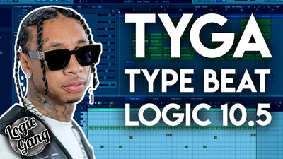 How to make a Tyga type beat in Logic Pro X 10.5