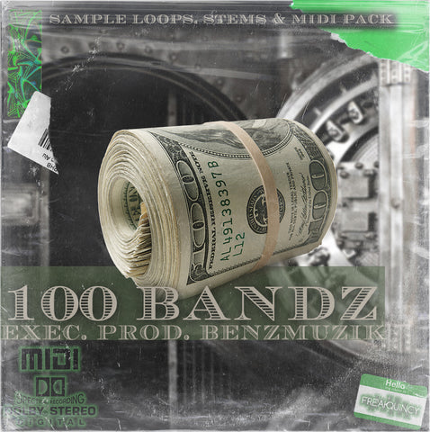 100 Bandz - Sample Loops, Stems & Midi Kit