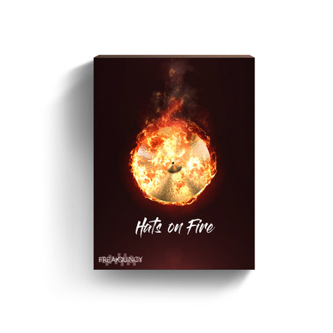 Hats on Fire - Hihat Loops, Midi & One Shot Kit