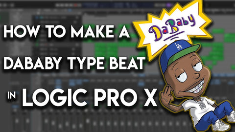 👶 How to make a Da Baby type beat in Logic Pro X