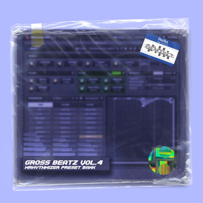 Gross Beatz Vol. 4 - MRhythmizer Preset Bank