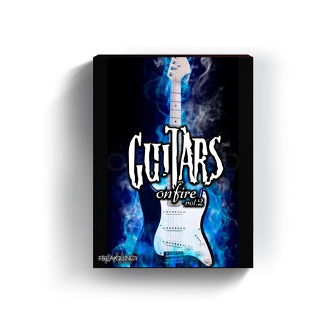 Guitars on Fire Vol. 2 - Sample Loops, Stems & Midi Kit