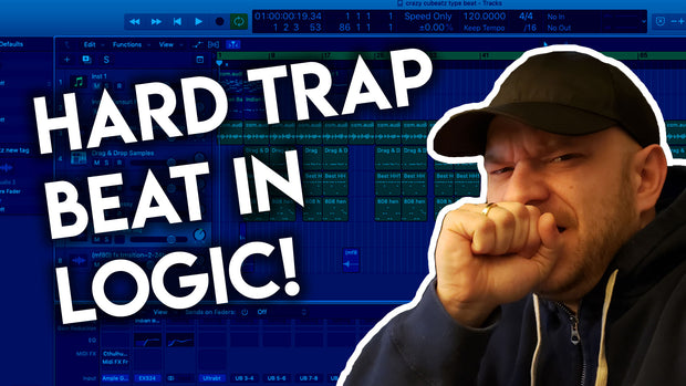 HARD TRAP BEAT - LOGIC PRO X PROJECT FILE