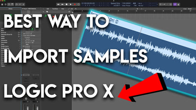 Best way to load/import Drum Kits/Sounds/Samples into Logic Pro X