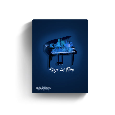 Keys on Fire - Sample Loops & Midi Kit