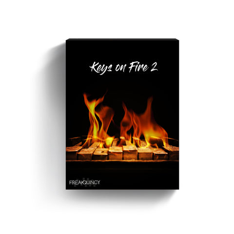 Keys on Fire Vol. 2 - Sample Loops & Midi Kit