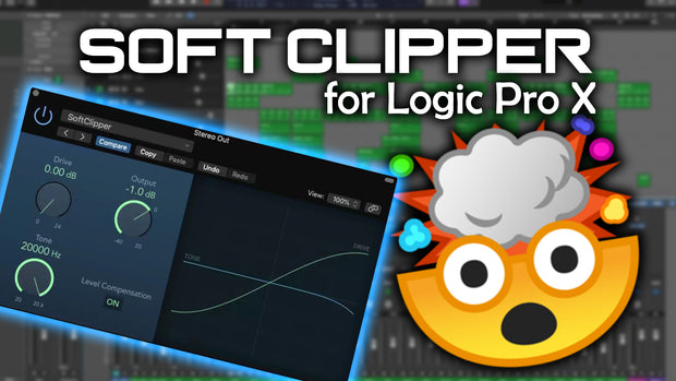 Soft Clipper for Logic Pro X - Mixing Template
