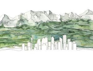 Print - Calgary & The Foothills