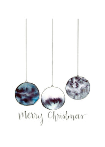 Print - Christmas Ornaments