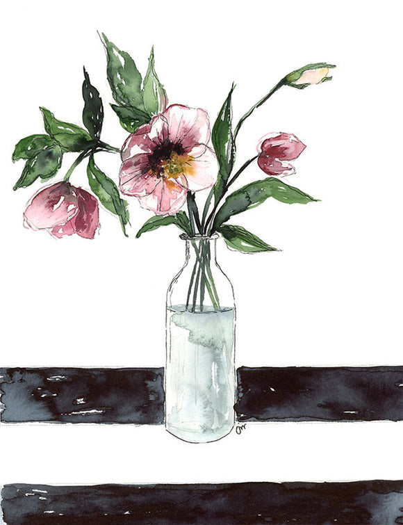 NEW - Hellebores Floral