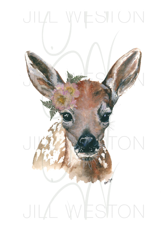 Print - Lady Fawn (Daytime Look)