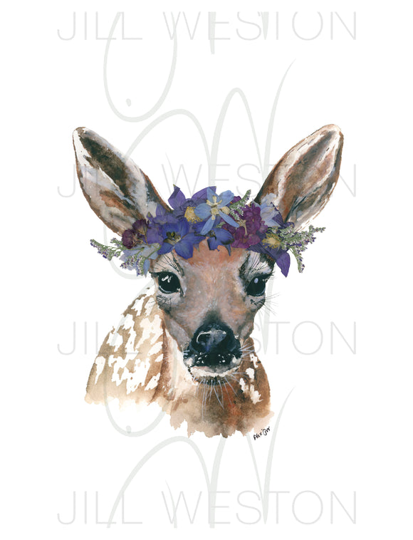 Print - Lady Fawn (Evening Look)