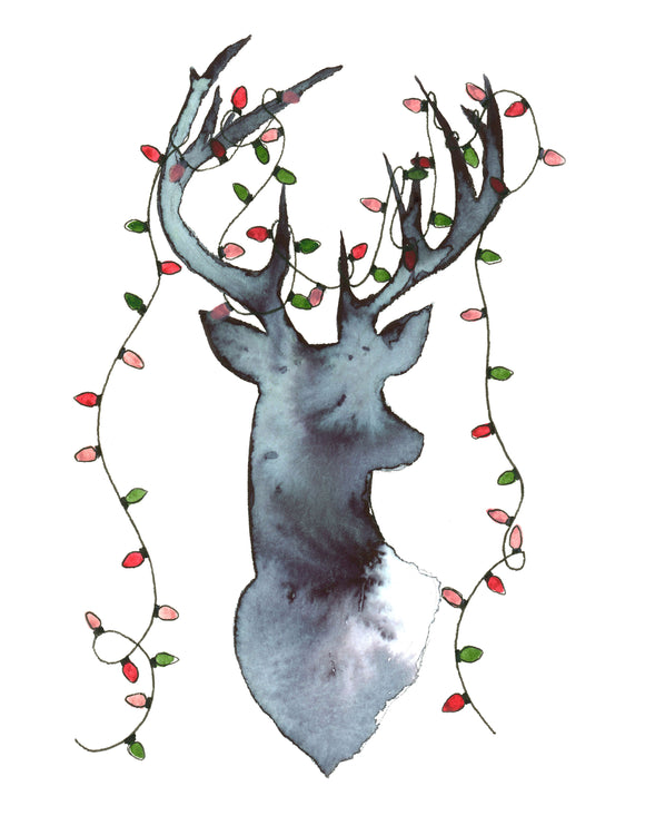 Card - Christmas Deer