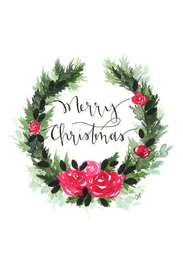 Print - Christmas Wreath