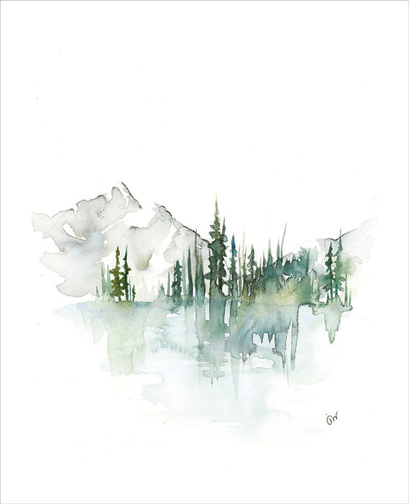 Print - Mount Lorette Ponds