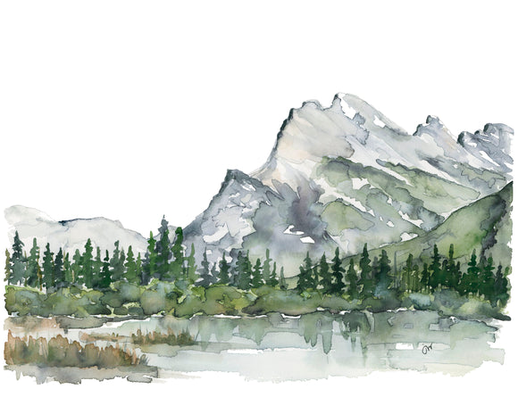 NEW PRINT - Rundle Mountain 1