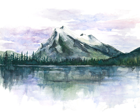 NEW PRINT - Rundle Mountain 2