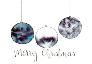 Card - Christmas Ornaments