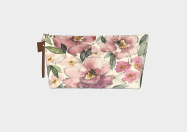 Makeup Bag - Peony Patch
