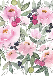 Card - I Love Peonies Berry Much