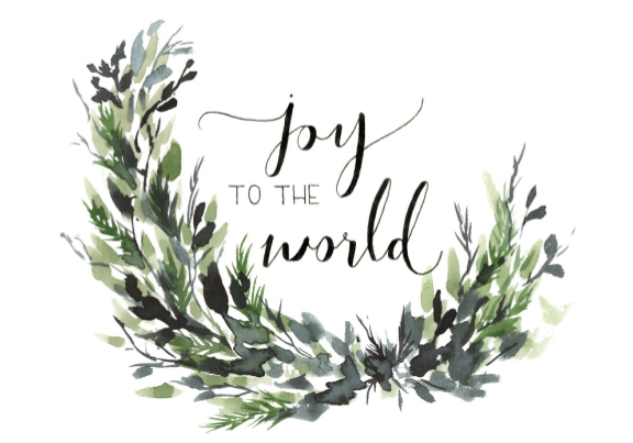 Card - Joy to the World