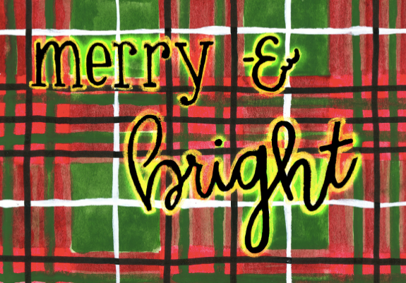 Card - Merry & Bright