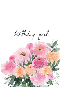 Card - Birthday Girl