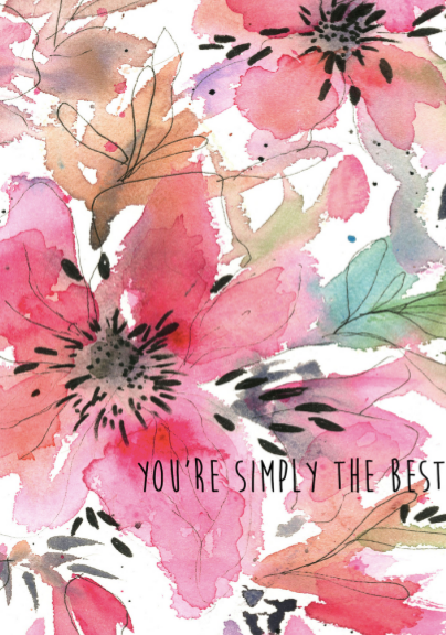 Card - Simply the Best