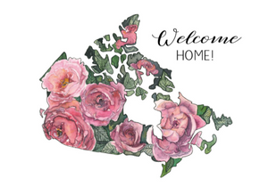 Card - Welcome Home!