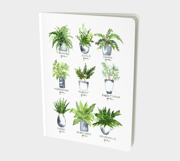 Notebook (Lined pages) - Fern Gallery