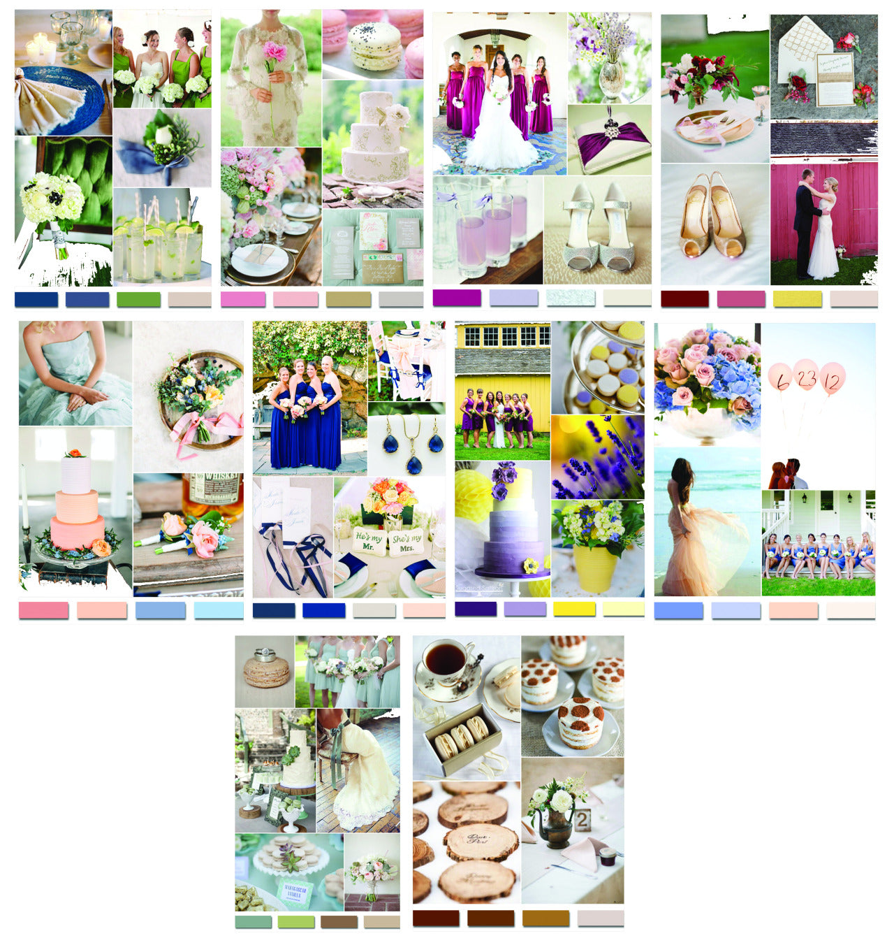 How To Choose A Wedding Color Theme Margaritas Bakery