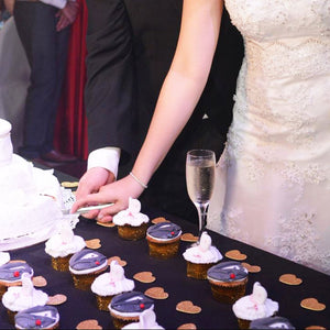 Bride & Groom Cupcakes