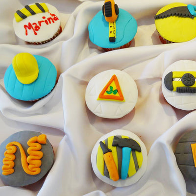 Contractor Cupcakes