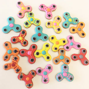 Fidget Spinner Cookies