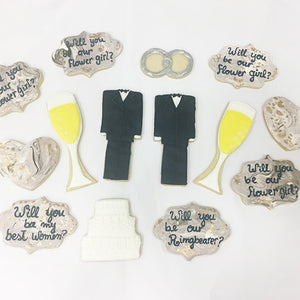 Cheers Wedding Cookies
