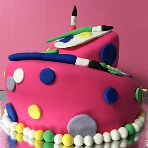 Painter Brush Cake