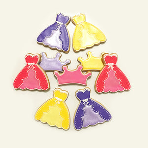 Princess Colors Cookies