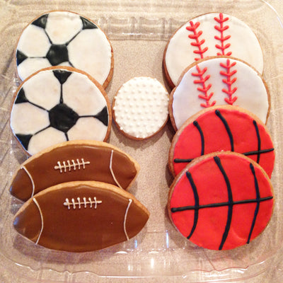 Sports Ball Cookies