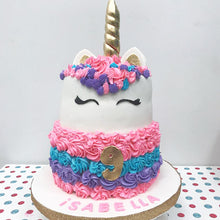 Unicorn Cake 2 Tier