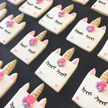 Unicorn Square Cookies