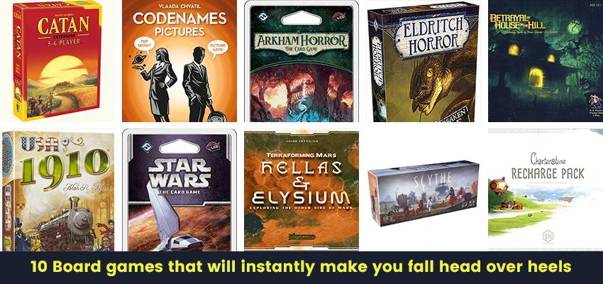 Top 10 Best Board games that will instantly make you fall head over heels